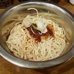 UMAMI SOUP Noodles 虹ソラ - 味付替玉(小エビガーリック)(2017年1月30日)