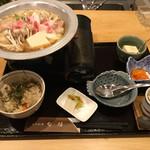 日本料理 旬坊 - 黒豚とろろ鍋膳