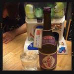 居酒屋いっぷく - 一刻者 紫 ボトル3,000円