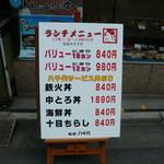 Sushidokoroyachiyo - 看板