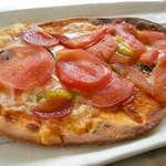 陶芸の森 パノラマカフェ 美味しい広場 - トマトピザ