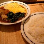 木多郎 - チキンエッグカレー