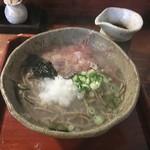 東風 - 釜あげそば(十割)