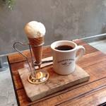 マイティ ステップス コーヒー ストップ - マスカルポーネ アイスクリーム&中煎り ブラジル