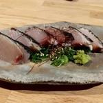 和旬菜 せつだ - ブリわら焼き塩タタキ