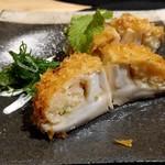和旬菜 せつだ - 椎茸の揚げ物?