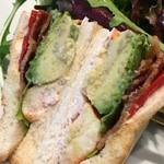 Mariposa - サンドイッチのアップ♪