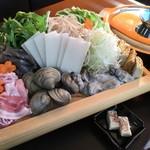 新島水産 - 酒粕鍋