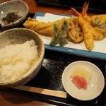 天ぷらいまにし - 天ぷら盛り合わせ定食