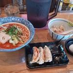 62008139 - 濃厚辛味噌鶏そば(850円)+Cセット(300円)