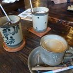 やちむん喫茶シーサー園 - やちむんでドリンク♪