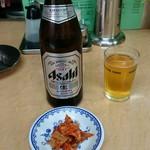 中華料理 貴楽 - キムチ、サービス(^_^)v