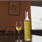 バダローネ - 自家製リモンチェッロを始めグラッパなど食後酒も充実。