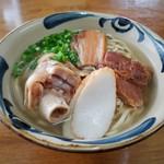 米八そば - トライアスロンそば(大)