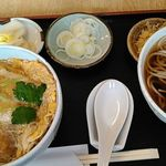 やぶ - 料理写真:KDS温そば 1100円