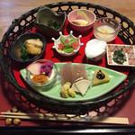 粟 - 料理写真:前菜