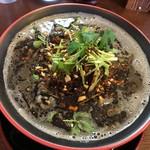 節系とんこつらぁ麺 おもと - 黒ゴマ担々麺:大盛り