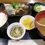 北の味紀行と地酒 北海道 - A:さわらとキノコのあんかけ定食