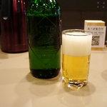 つけ麺 五ノ神製作所 - ビールは、ハートランド中瓶♪