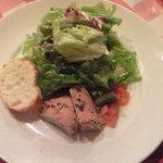 ブラッスリー・グー - メニューA 1050円 の鶏レバーのパテ
