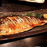 亀千人 - サバの塩焼き