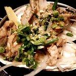 亀千人 - カキのガーリックバター焼き