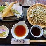玄蕎麦河童 - 料理写真:天せいろ 1700円