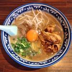 麺や 樽座 - 限定「徳島ラーメン」800円