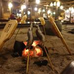本家伴久 - 料理写真:囲炉裏テーブル