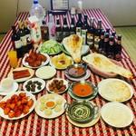 ネパールインド料理 Base Camp - 料理写真:様々な宴会メニュー Party Menu