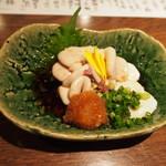ぽんしゅや三徳六味 - 白子ぽん酢