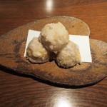 ぽんしゅや三徳六味 - 里芋の唐揚げ