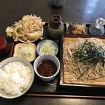 峠の茶屋 - そば定食¥850