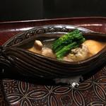 日本料理 晴山 - (2017年1月)真鴨の小鍋仕立て