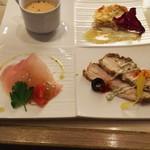 イタリア市場 ラスペランザ - 料理写真:前菜