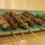 居酒屋 やまひばり - 料理写真:串焼き盛り合わせ 690円