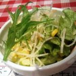モルトボーノ - ランチのさっぱりサラダ