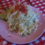 路地裏のタイ料理とお酒 バナナ食堂 - ランチ サラダ