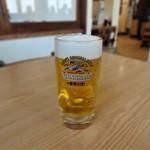 食堂 遊覧亭 - 生ビール