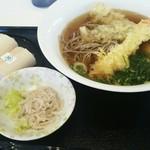 美芳野庵のうどん托 - 料理写真: