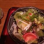 62031502 - 特製ビーフシチュー膳 サラダ アップ