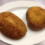 日進堂 - カレーパン、辛口カレーパン