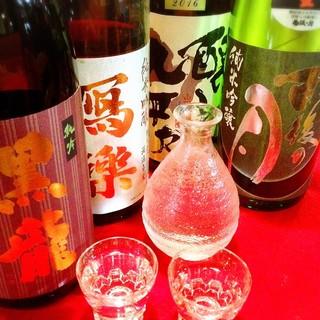 【全国の銘酒が豊富!】