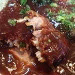 62033713 - しっとり柔らかなヒレ肉に、あっさり軽い味噌ダレが合う!