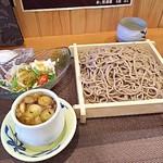 天龍 - きざみ鴨セイロ1000円