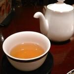 銀座アスター - [ドリンク] 中国茶 ティーセット