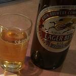 白頭山 - ドリンク写真:大瓶です