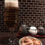 串処 権鹿 - ザ・プレミアムモルツ「香るエール」生 620円。