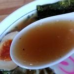 麺屋 小太郎 - スープの感じ