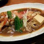 うまいもの 楽味 - 金目鯛の煮付